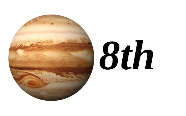 Jupiter in 8th House