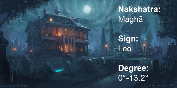 All About Nakshatras Maghā Magha