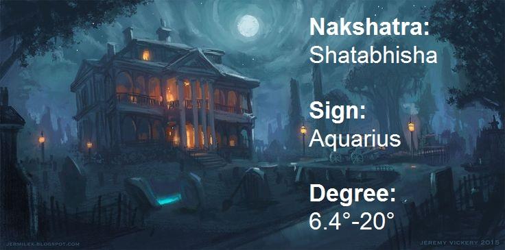 All About Nakshatras Shatabhisha