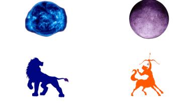 Sun in Leo Moon in Sagittarius Free Sidereal Astrology Vedic Jyotish Zodiac Star Signs Constellations