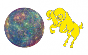 Mercury in Aries Free Sidereal Astrology Vedic Jyotish Zodiac Star Signs Constellations