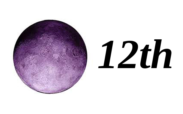 Moon in 12th House