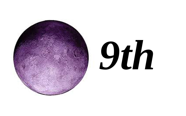 Moon in 9th House