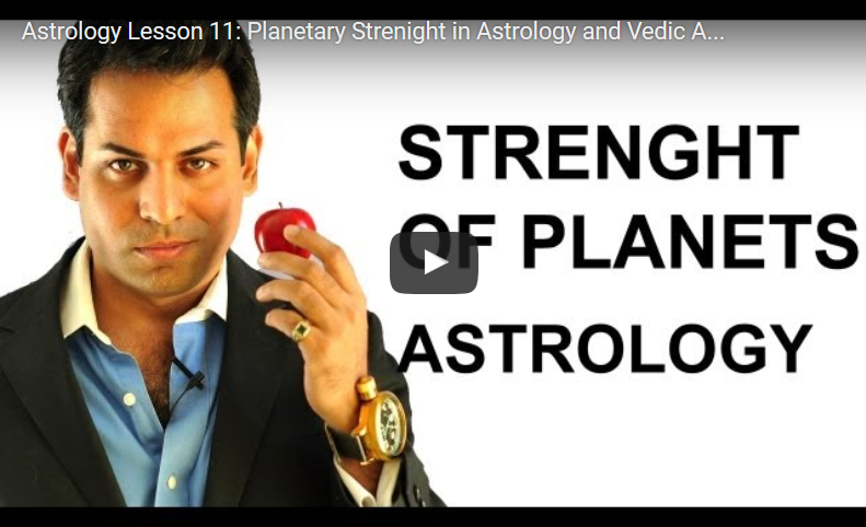 How Strong Are Your Planets?